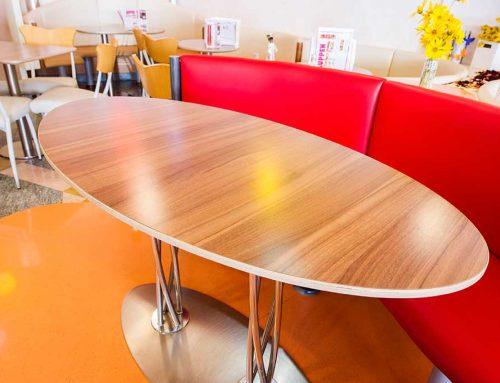 Gastro-Tisch oval